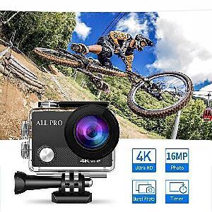 4K Camera Action Pro - Waterproof Digital UHD Wifi