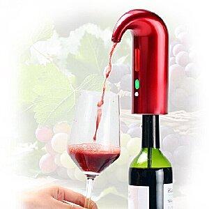 Wine Aerator Oxygenator Pourer Electric In Bottle For Smoother Taste