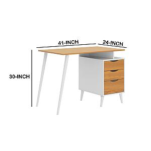 Office Computer Desk With Angled Legs