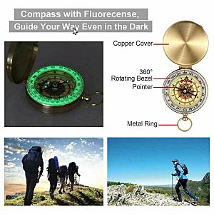 Multi-Function Compass Survival Kit