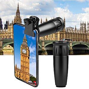 4K Resolution Photography Bundle - 12 in 1 Multipurpose Lens Kit